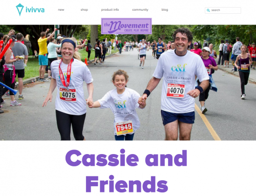 Ivivva helps raise awareness about Juvenile Arthritis with our #GirlsOfAdventure